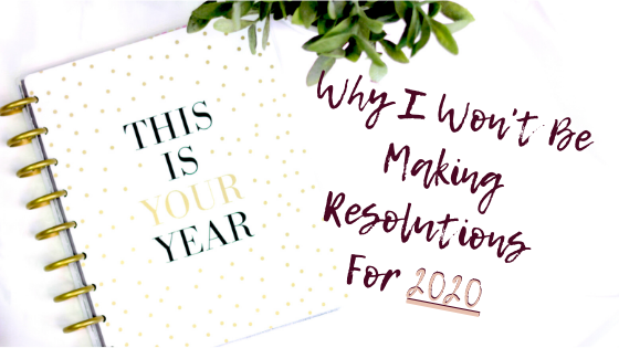 Setting smart goals to make your 2020 vision.
