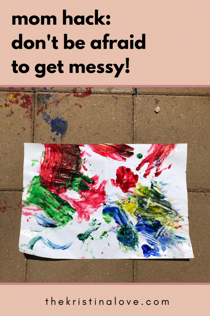 Messy toddler activities