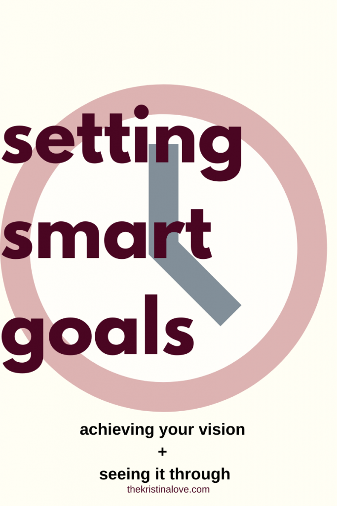 Setting smart goals and seeing them through. 2020 goals. Short term goals.