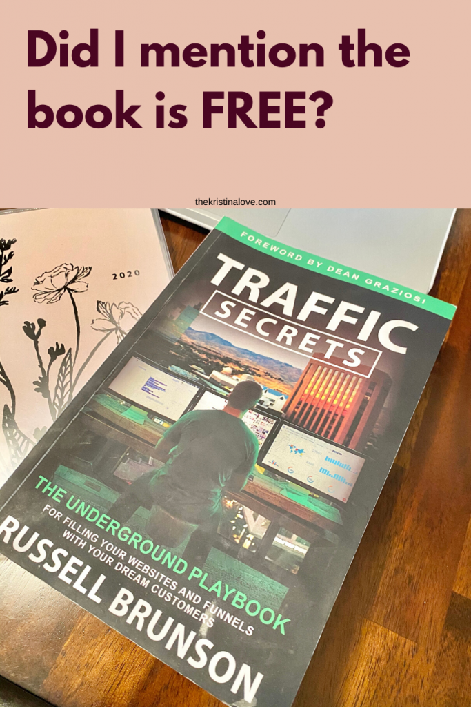 How to grow your online presence. Traffic Secrets.